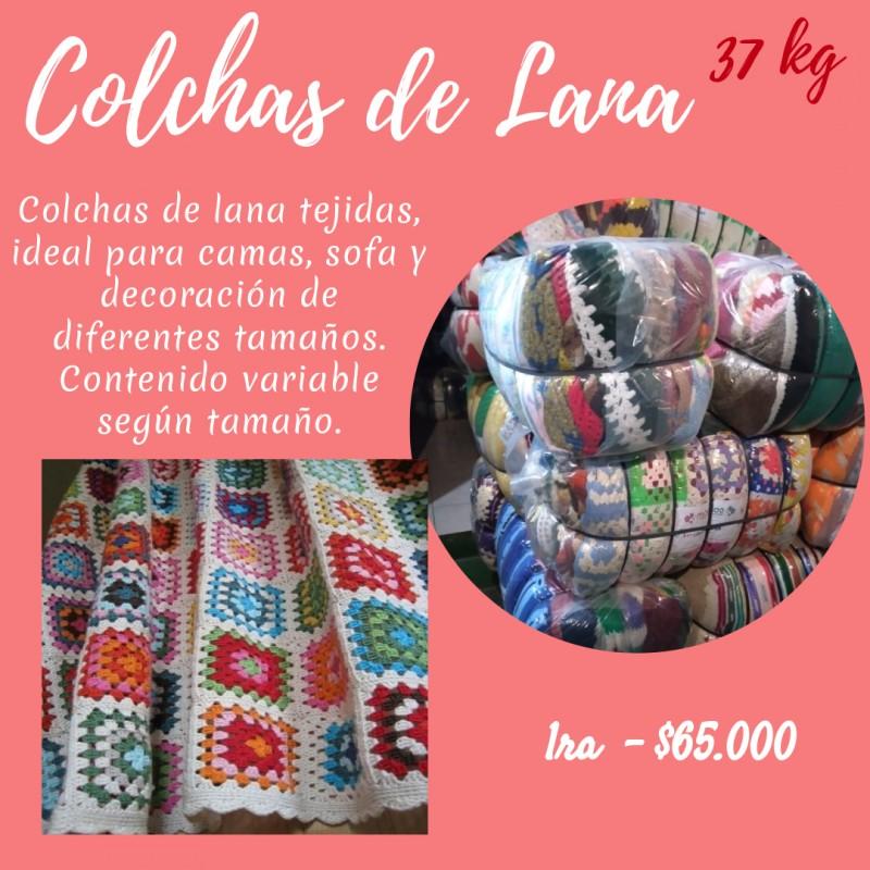 COLCHAS DE LANA