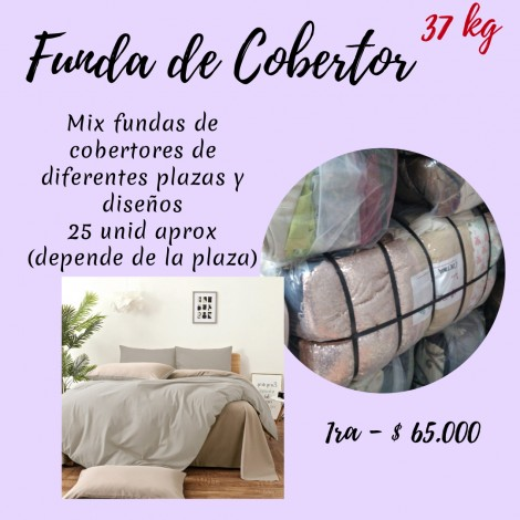 FUNDAS DE COBERTOR