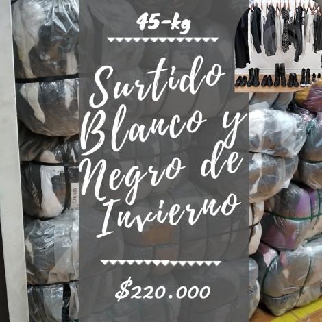 SURTIDO BLANCO Y NEGRO INVIERNO