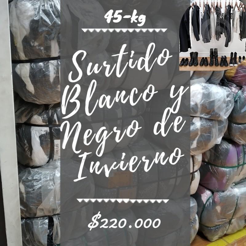 SURTIDO BLANCO Y NEGRO IN...