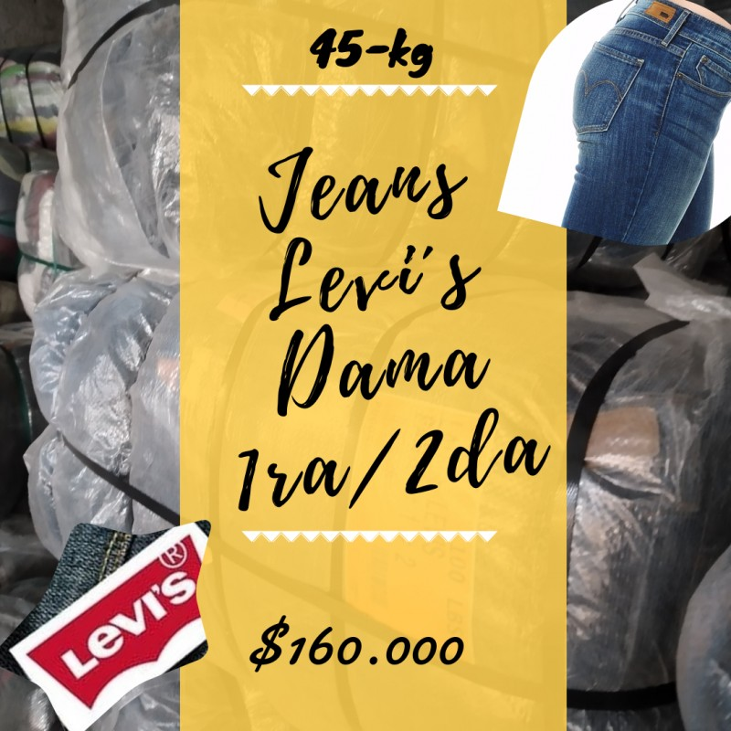 JEANS LEVI´S MUJER 1RA/2...