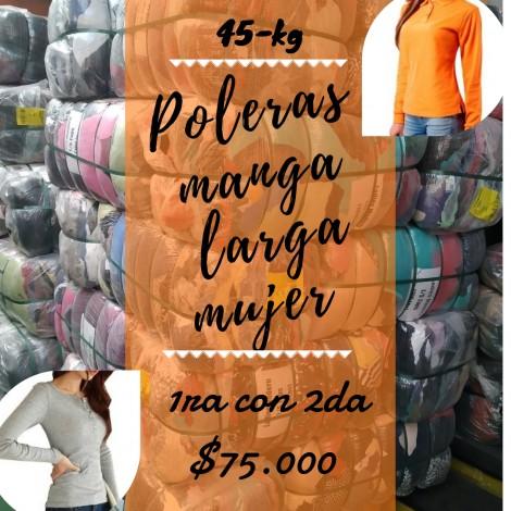 POLERA MUJER M/L / LADIES T-SHIRTS L/S