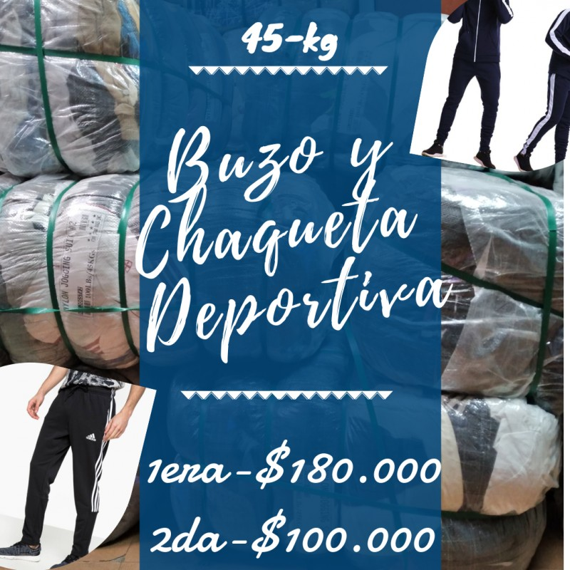 BUZO CHAQUETA DEPORTIVA /...